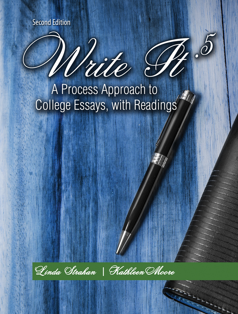 write it a process approach to college essays readings write it 5 a process approach to college essays readings higher education