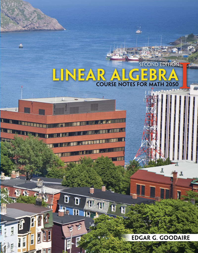 Linear Algebra I: Course Notes for Math 2050 | Higher Education