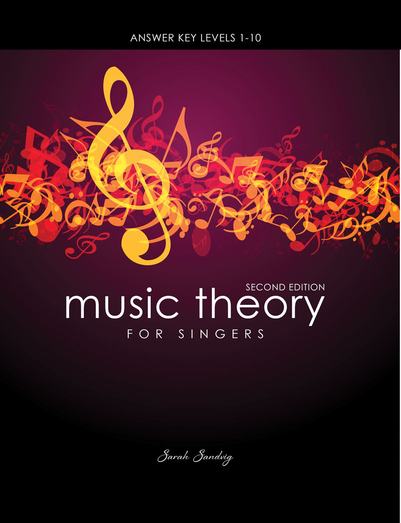 music theory for singers answer key levels 1