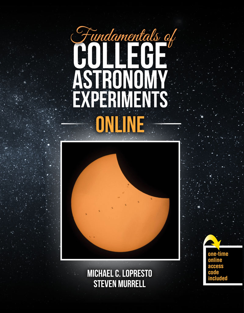 Fundamentals of College Astronomy Experiments Online ...