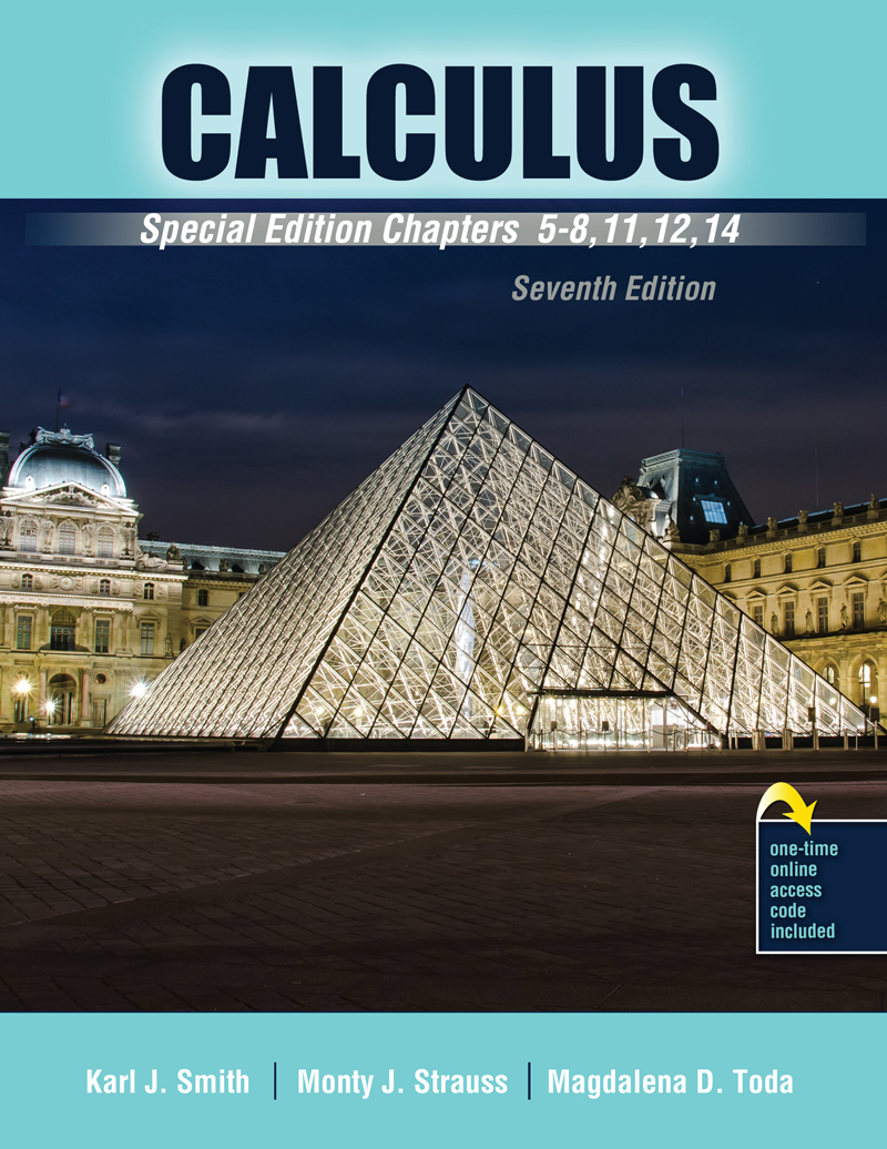 Calculus Special Edition Chapters 5 8 11 12 14