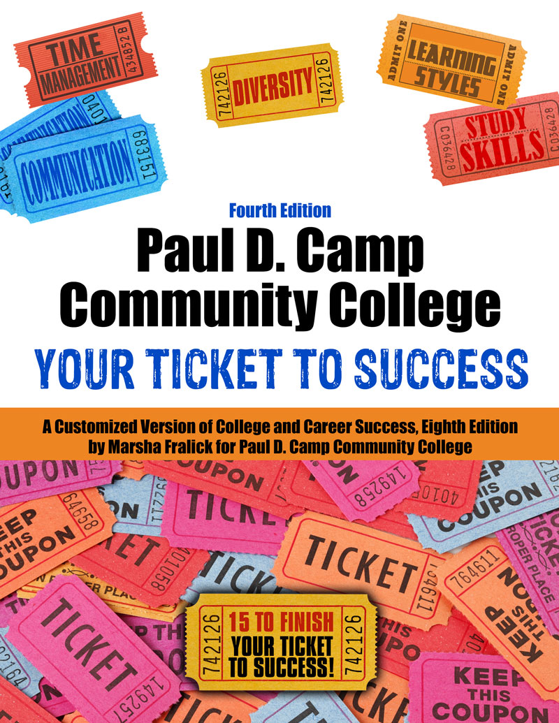 Pdccc Your Ticket To Success A Customized Version Of College Career