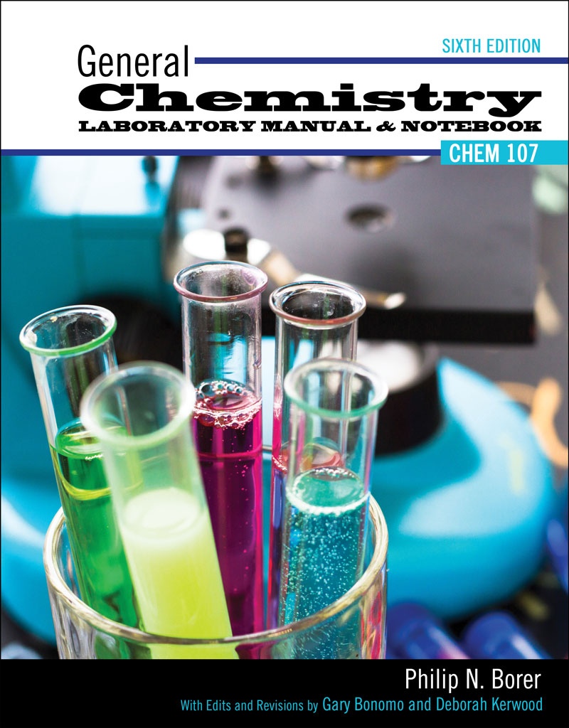 General Chemistry Laboratory Manual and Notebook | Higher Education