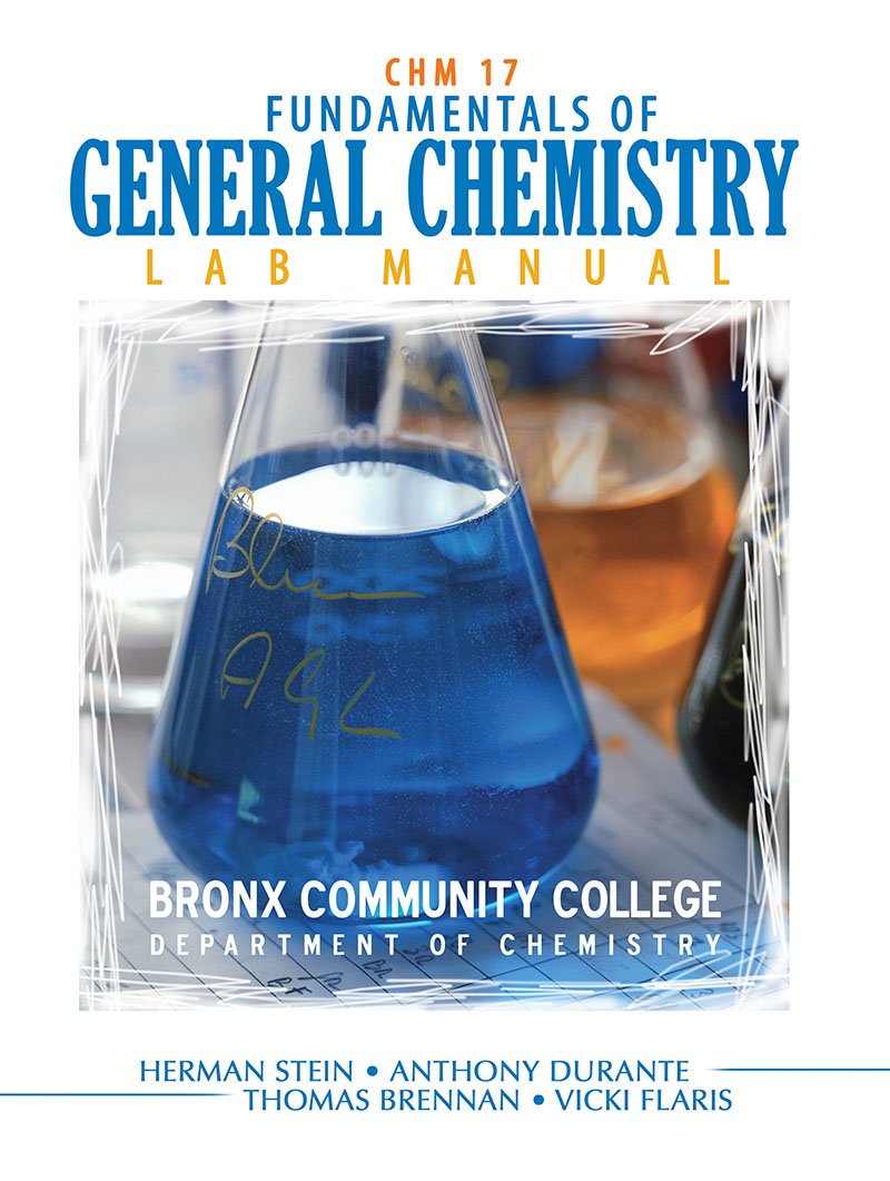 Fundamentals of general chemistry lab manual bronx community fundamentals of general chemistry lab manual bronx community college department of chemistry higher education fandeluxe Images