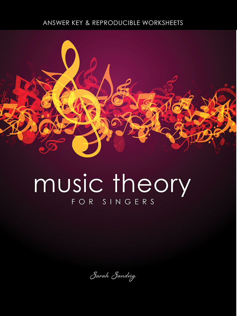 Workbooks www education com worksheets answer key : Music Theory for Singers: Answer Key and Reproducible Worksheets ...