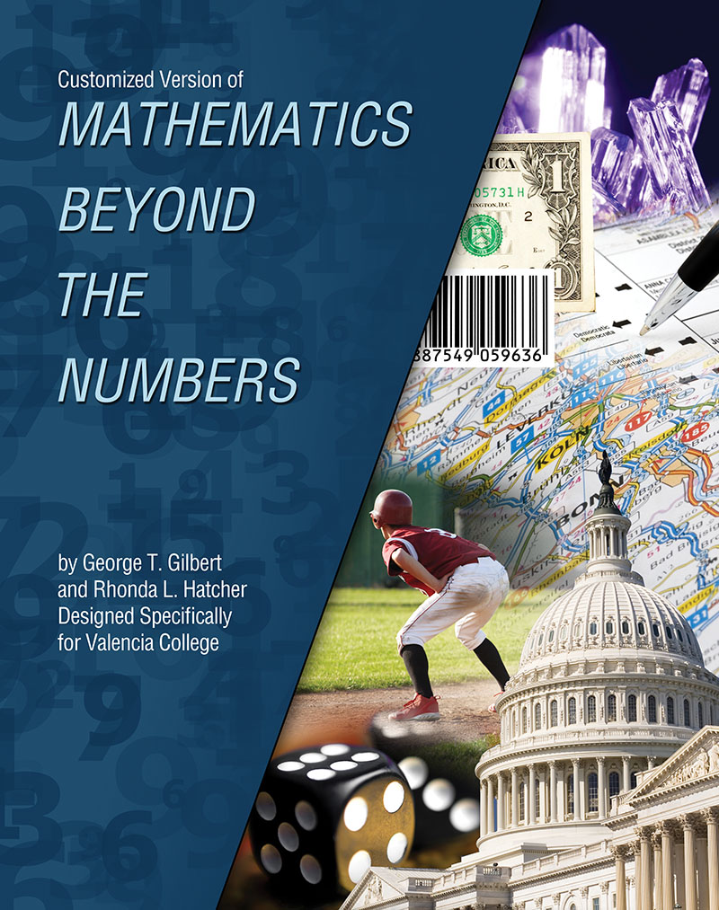 Customized Version of Mathematics Beyond the Numbers by George T