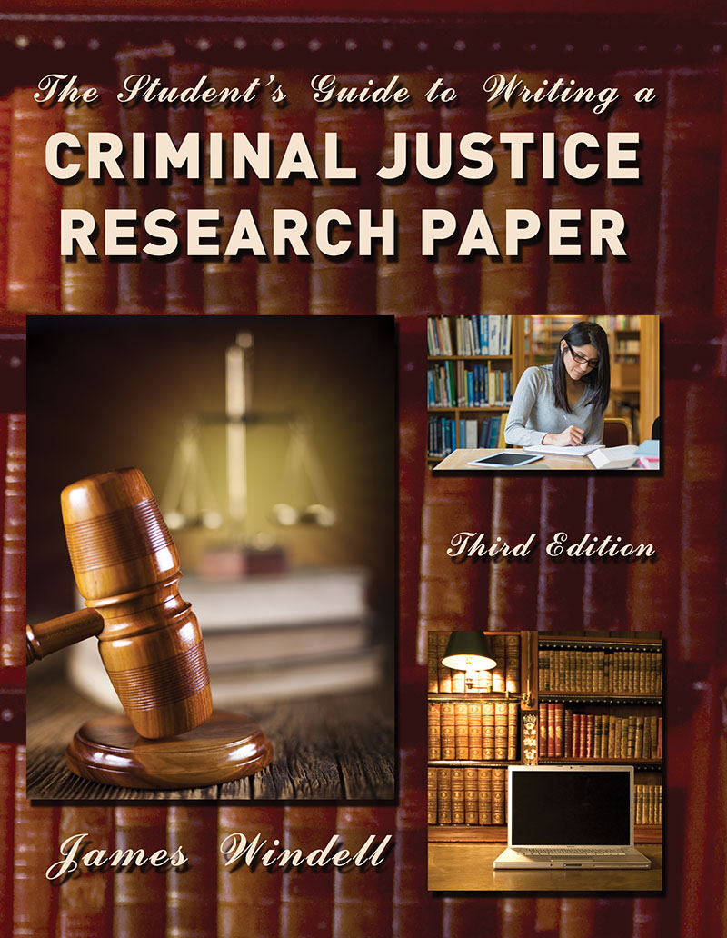 How to write a criminal justice research paper