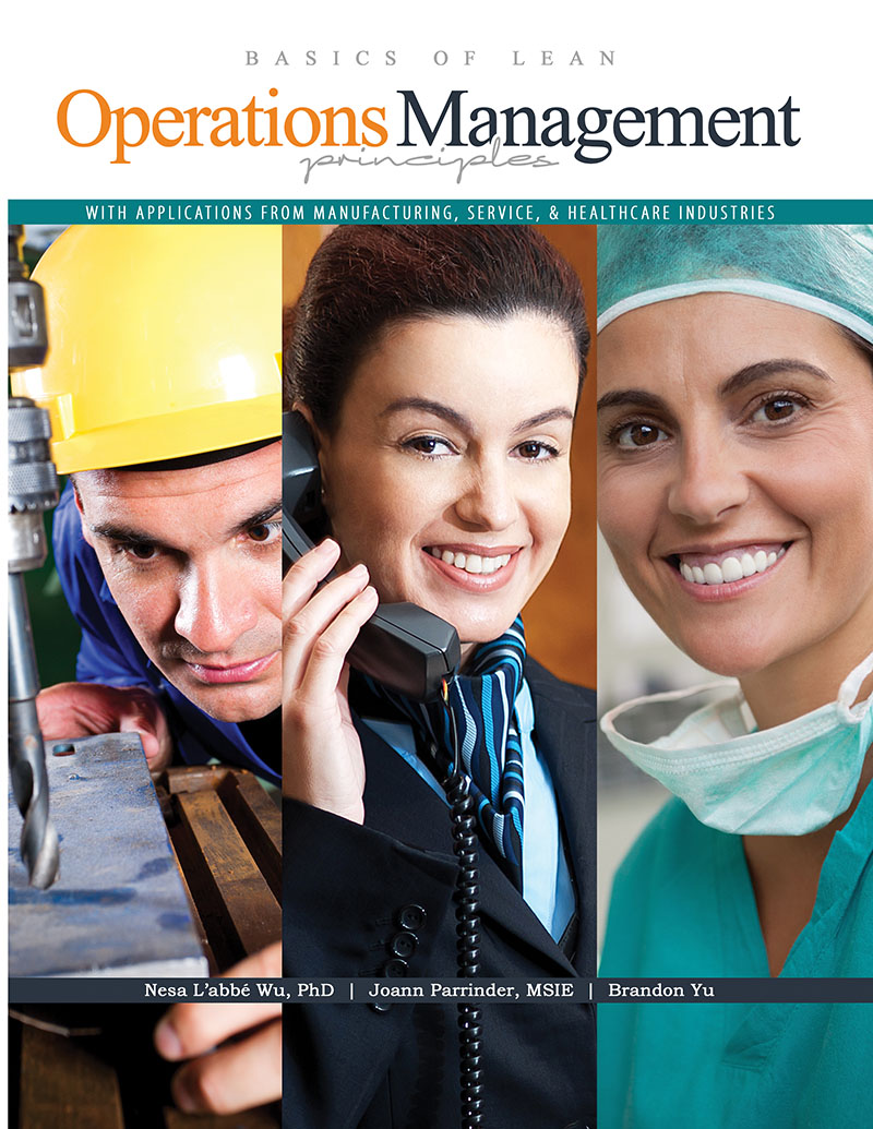 operations management in service and manufacturing • define operations management and discuss the role of the operations manager in a manufacturing company • describe the production process in manufacturing • list characteristics distinguishing service from manufacturing operations • explain the use of technology, tqm, and.
