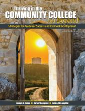 Thriving in the Community College and Beyond: Strategies for Academic Success and Personal Development, test taking strategies, educational planning, college success